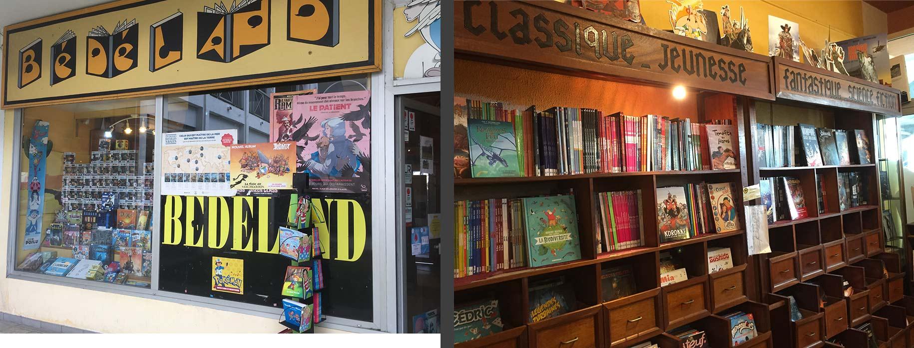 sélection de BD, mangas, figurines et jeux à Saint-Gilles les Bains (974) | Bédéland