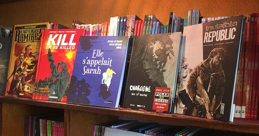 BD à Saint-Gilles les Bains : les grands classiques   Bédéland